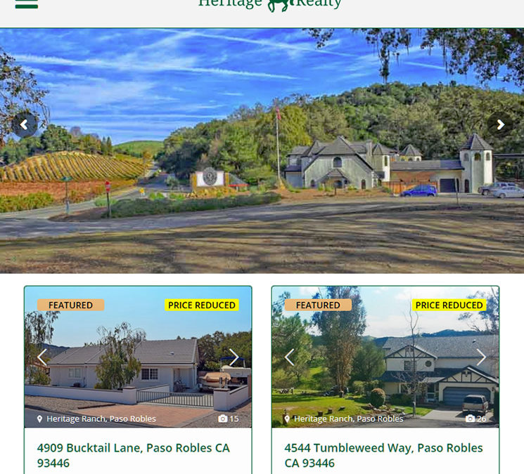 Heritage Realty of Paso Robles, California
